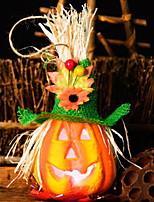 Недорогие -Праздничные украшения Украшения для Хэллоуина Декоративные объекты Оригинальные Оранжевый 1шт
