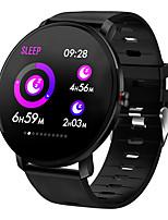 Недорогие -Смарт Часы Цифровой Современный Спортивные силиконовый 30 m Защита от влаги Пульсомер Bluetooth Цифровой На каждый день На открытом воздухе - Черный Черный / Желтый Черный / серый