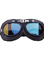 Недорогие -уникальные старинные очки мотоцикла мотокросса пилот верхом очки для наружной рамки colortransparent