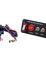Недорогие -12v вел переключатель кнопки запуска двигателя панели переключателя зажигания установленный для гоночного автомобиля