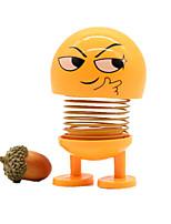 Недорогие -трясти головой игрушки автомобиль украшения куклы милый мультфильм смешной прекрасный автомобиль приборной панели украшения