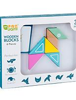 Недорогие -Деревянные пазлы Креатив Простой утонченный удобный деревянный 1 pcs Детские Все Игрушки Подарок