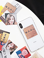 Недорогие -Кейс для Назначение Apple iPhone XS / iPhone XR / iPhone XS Max Ультратонкий / Прозрачный Кейс на заднюю панель Прозрачный / Мультипликация ТПУ