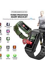 Недорогие -x800 ip8 водонепроницаемый bluetooth умный браслет спорт браслет сердечного ритма монитор артериального давления умный браслет