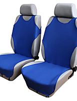 Недорогие -автомобильные передние дышащие чехлы на сиденья универсального применения на 5 сидений, 4 сезона