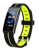 Недорогие -F10C умный браслет Bt фитнес-трекер поддержки уведомить&Монитор сердечного ритма, совместимый с IOS / Android телефонов