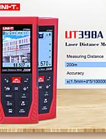 Недорогие -uni-t ut396b 120 м профессиональный цветной лазерный дальномер электронный уровень хранения данных камера вспомогательная функция подключения USB