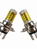 Недорогие -otolampara 80 Вт супер яркий желтый свет лампы накаливания мотоцикла pk43t 2 шт.
