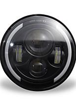 Недорогие -150w 7 '' круглая светодиодная фара с высоким ближним светом