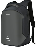 Недорогие -20-35 L Заплечный рюкзак Воздухопроницаемость На открытом воздухе Пешеходный туризм Полиэстер Черный Серый Вино