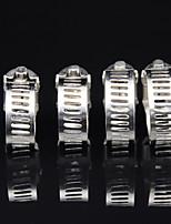 """Недорогие -100шт / комплект стальных металлических хомутов с регулируемой лентой1 / 4 """"до 5/8"""""""