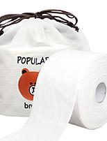 Недорогие -косметическая вата / одноразовое полотенце для лица / чистящие инструменты мягкие / для переноски / удобная мягкая одноразовая чистка всего тела 1 шт
