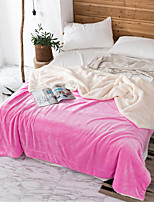 Недорогие -Одеяла, Однотонный / Простой Полиэстер Мягкость удобный одеяла