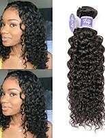Недорогие -3 Связки Бразильские волосы Естественные прямые Не подвергавшиеся окрашиванию Необработанные натуральные волосы Человека ткет Волосы Удлинитель Пучок волос 8-28 дюймовый Нейтральный