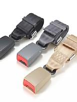Недорогие -2.1 см универсальный регулируемый удлинитель ремня безопасности автомобиля черный удлинитель ремня безопасности