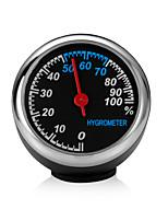 Недорогие -мини автомобиль автомобильные цифровые часы авто часы автомобильный термометр гигрометр украшения орнамент стиль часов гигрометр