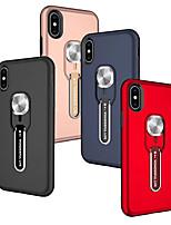 Недорогие -Кейс для Назначение SSamsung Galaxy Huawei P30 / Huawei P30 Pro / Huawei P30 Lite Кольца-держатели Кейс на заднюю панель Однотонный ТПУ