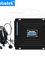 Недорогие -усилитель сигнала автомобиля 2g 3g 4g усилитель сигнала сотового телефона 2100 МГц 1800 МГц трехчастотный повторитель сигнала мобильного телефона 900 МГц для использования в транспортных средствах