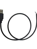 Недорогие -5 шт. 50 cm Работает от USB Своими руками / Украшение / Газонокосилка пластик Аксессуары черный для RGB LED Strip Light / для DIY Plant Flower Seeding light / для светодиодной полосы света