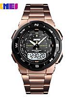 Недорогие -SKMEI Муж. электронные часы Цифровой 30 m Защита от влаги Календарь Новый дизайн Аналого-цифровые На открытом воздухе Мода - Черный Зеленый Черно-белый