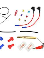 Недорогие -мини 12v автомобильный адаптер цепи предохранителя лезвие держатель предохранителя gps навигатор прикуриватель добавил наборы инструментов modelsa1933