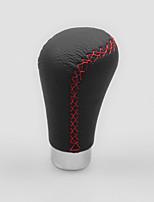 Недорогие -универсальный кожаный рычаг переключения передач усовершенствованные высокопрочные автомобильные чехлы