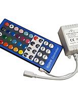 Недорогие -1шт 12-24 V Дистанционно управляемый / Своими руками / Украшение пластик Контроллер для RGB LED Strip Light / для светодиодной полосы света 2 W