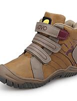 Недорогие -Мальчики Удобная обувь Полиуретан Спортивная обувь Маленькие дети (4-7 лет) Серый / Хаки Лето