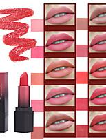 Недорогие -1 шт. Smakup 10 цветов красоты матовая долговечная помада натуральный прочный увлажняющий блеск для губ сексуальная антипригарная чашка макияж помада