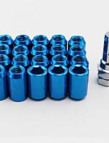 Недорогие -m12 20 шт. / компл. 1.25 внутренний шестигранник колесные гайки конус желудь конус сиденья