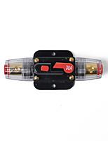 Недорогие -Линейный стерео выключатель 30a / аудио / автомобиль / rv 30a / 30amp предохранитель 12v