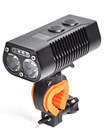 Недорогие -Светодиодная лампа Велосипедные фары Передняя фара для велосипеда LED Велоспорт Водонепроницаемый Быстросъемный Литий-полимерная 650 lm Перезаряжаемая батарея Белый Велосипедный спорт