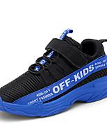 Недорогие -Мальчики / Девочки Flyknit Спортивная обувь Маленькие дети (4-7 лет) / Большие дети (7 лет +) Удобная обувь Беговая обувь Черный / Винный / Синий Осень / Зима / Контрастных цветов