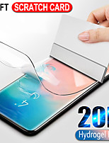 cheap -20d hydrogel film for samsung galaxy s10 s9 s8 plus note 9 8 a50 s10e full curved screen protector for a70 a30 s7 edge not glass