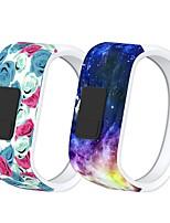 Недорогие -Ремешок для часов для Garmin vívofit jr Garmin Современная застежка силиконовый Повязка на запястье