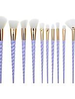 Недорогие -профессиональный Кисти для макияжа 10 шт. Мягкость Новый дизайн Градиент цвета Пластик за Косметическая кисточка