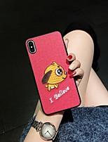 Недорогие -чехол для яблока iphone xs max / iphone 8 plus горный хрусталь / пылезащитный задняя крышка цветовой градиент жесткий тпу для iphone 6 / iphone 6 plus / iphone 6s