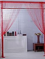 Недорогие -Для вечеринки Прозрачный 1 панель Занавес Девочки   Curtains