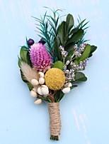 Недорогие -Искусственные Цветы 1 Филиал Односпальный комплект (Ш 150 x Д 200 см) Свадебные цветы Вечные цветы
