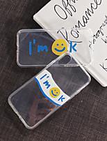 Недорогие -Кейс для Назначение Vivo VIVO Y85 / VIVO Y71 / VIVO Y79 Ультратонкий / Прозрачный / С узором Кейс на заднюю панель Прозрачный / Мультипликация ТПУ