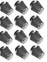 Недорогие -12шт 54мм двухслойная сетка грибов дизайн воздушный фильтр запасные части фильтрации общего применения калибр54мм package12 комплекты