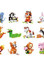 Недорогие -Конструкторы 1 pcs Rabbit Змея Собаки совместимый Legoing Животные Все Игрушки Подарок