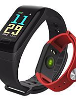 Недорогие -умный браслет f1 умный браслет bt фитнес-трекер поддержка уведомить&совместимый монитор сердечного ритма Samsung / Android телефонов / Iphone