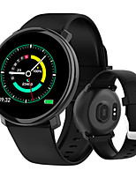 cheap -Smartwatch Digital Modern Style Sporty Silicone 30 m Water Resistant / Waterproof Heart Rate Monitor Bluetooth Digital Casual Outdoor - Black Red Blue