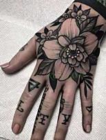 Недорогие -5 шт. Водонепроницаемый временный стикер татуировки роза другой цветок поддельные татуировки флэш татуировки рука рука ноги назад боди-арт тато для девушки, женщины, мужчины