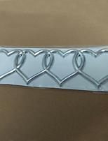 Недорогие -любовь сердце логотип задний багажник значок эмблема наклейка стикер замена для ауди