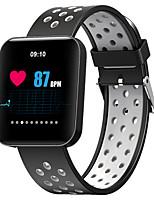 Недорогие -Смарт Часы Цифровой Современный Спортивные силиконовый 30 m Защита от влаги Пульсомер Bluetooth Цифровой На каждый день На открытом воздухе - Черный / Синий Черный / серый Лиловый