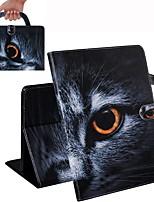 Недорогие -чехол для amazon kindle paperwhite 2018 кошелек / визитница / противоударные чехлы для всего тела кошка pu кожаный чехол для amazon kindle paperwhite 2018