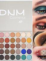 Недорогие -марка dnm 35 цвет волшебная палитра теней для век матовый металл блестящий блеск глянцевый водонепроницаемый прочный макияж глаз