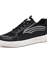 Недорогие -Муж. Комфортная обувь Синтетика Весна лето На каждый день Кеды Черный / Белый / Бежевый